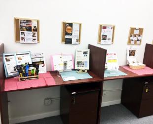 オフィス内商品陳列